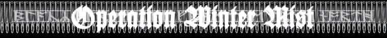 Operation Winter Mist - Logo
