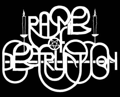Rhymes of Destruction - Logo
