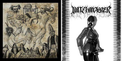 Adorior / Witchmaster - Hater of Fucking Humans / Blood Bondage Flagellation