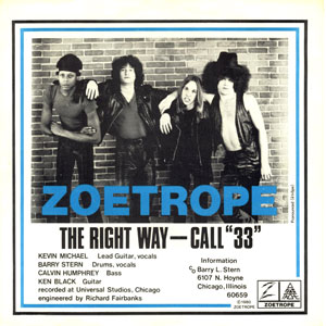 """Zoetrope - The Right Way / Call """"33"""""""