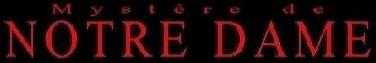 Mystere de Notre Dame - Logo