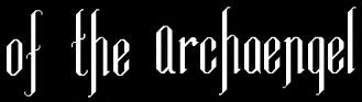 Of the Archaengel - Logo
