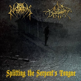 Music Distroyer / Natanas - Splitting the Serpent's Tongue