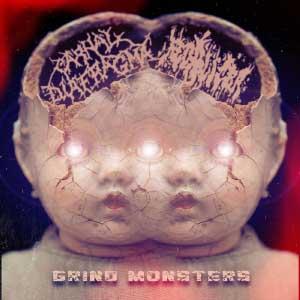 Carnal Diafragma / Fecalizer - Grind Monsters