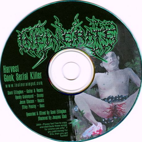 Incinerate - EP 2004