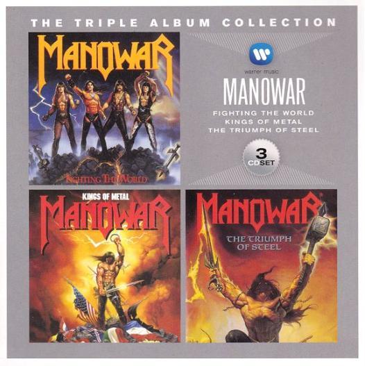 Manowar - The Triple Album Collection