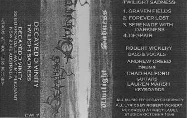 Decayed Divinity - Twilight Sadness