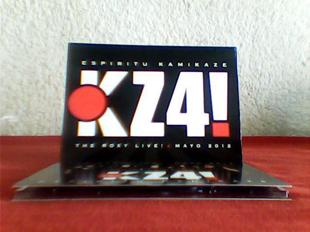KZ4! - Espíritu Kamikaze - The Roxy Live! Mayo 2012