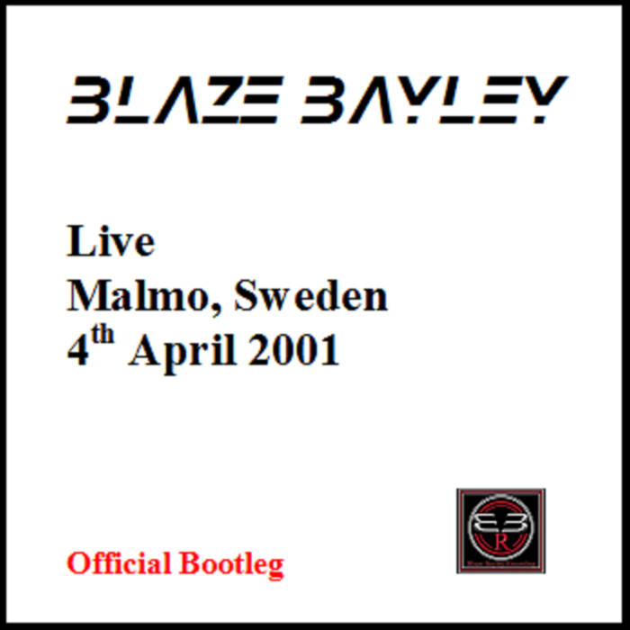 Blaze Bayley - Live - Malmo, Sweden - 4th April 2001