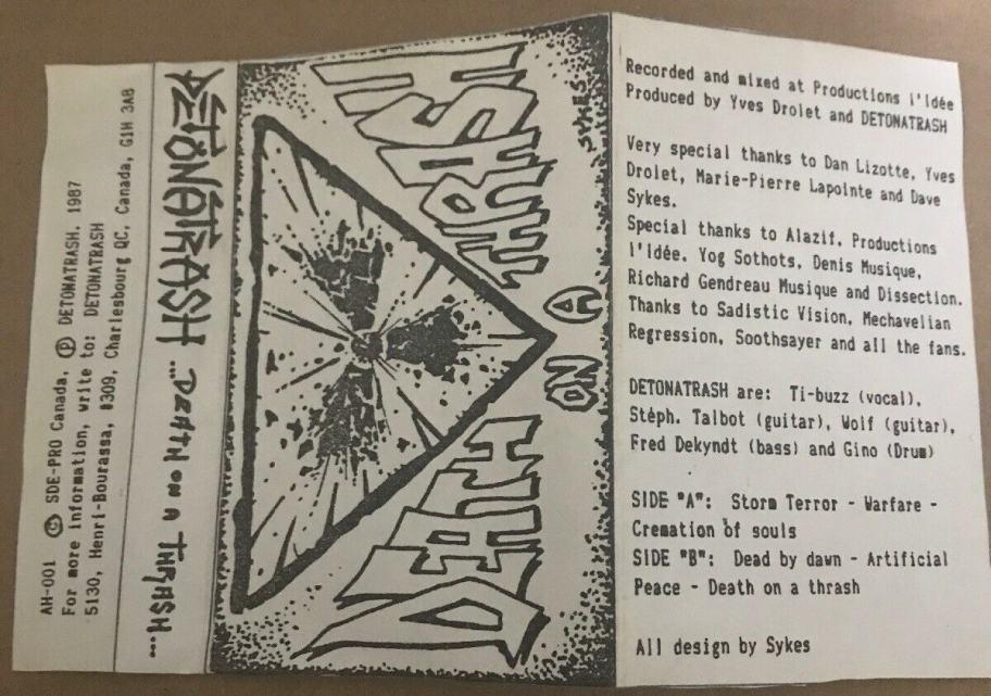 Detonathrash - Death on a Thrash