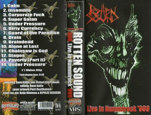 Rotten Sound - Live in Nummirock '999