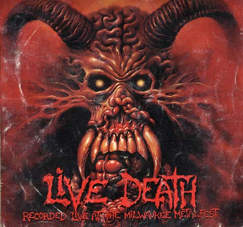 Suffocation / Malevolent Creation / Exhorder / Cancer - Live Death