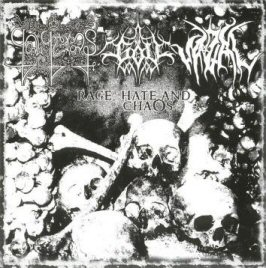 Galgeras / Vazal / Göll - Rage, Hate and Chaos
