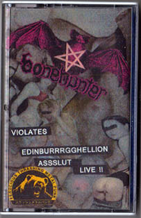 Bonehunter - Violates Edinburrrgghellion Asslut Live !!