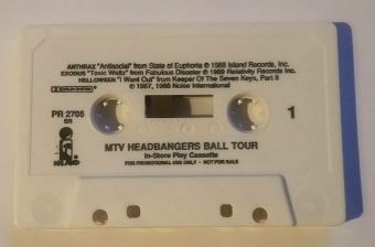 Helloween / Anthrax / Exodus - MTV Headbangers Ball