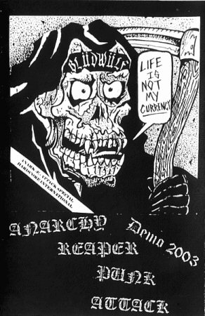 Blüdwülf - Anarchy Reaper Punk Attack