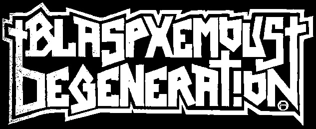 Blasphemous Degeneration - Logo