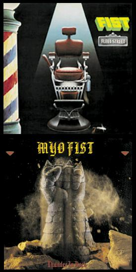 Fist - Fleet Street / Thunder in Rock