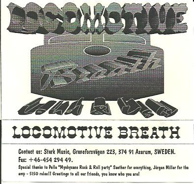 Locomotive Breath - Loud and Ugly