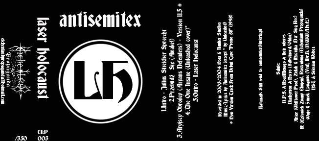 Antisemitex - Laser Holocaust