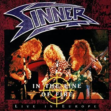 Sinner - In the Line of Fire