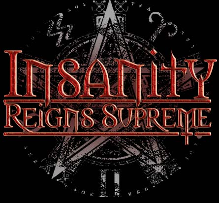 Insanity Reigns Supreme - Logo
