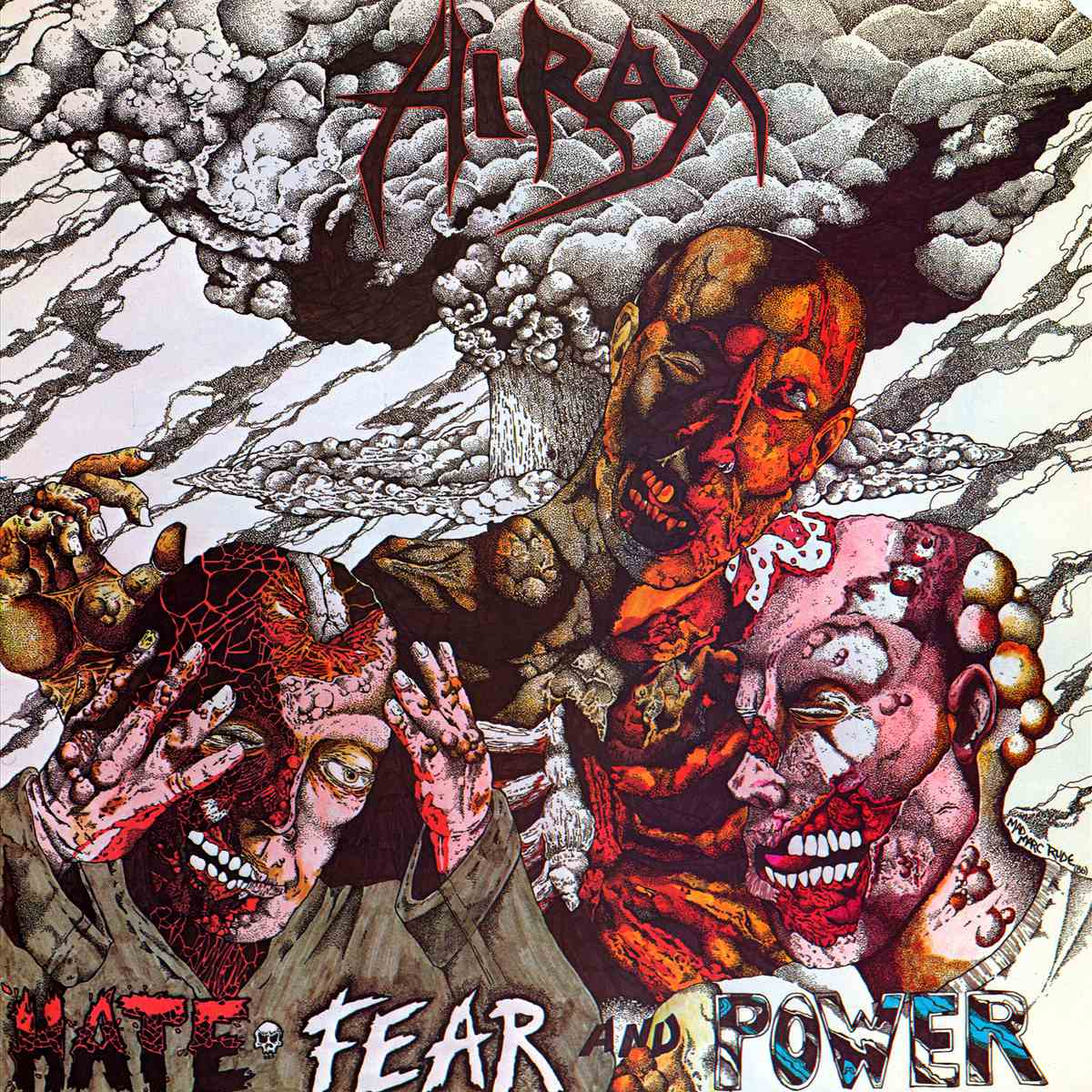 Hirax - Hate, Fear and Power