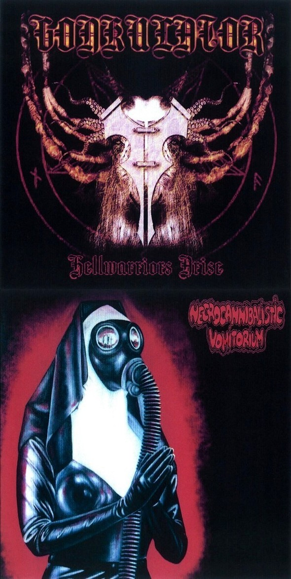 Gonkulator / Necrocannibalistic Vomitorium - Hellwarriors Arise / Untitled
