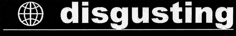 Disgusting - Logo