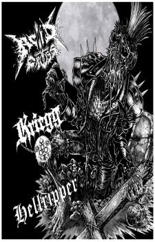 Kriegg / Hellripper / Acid Cross - Acid Cross / Kriegg / Hellripper