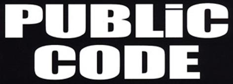 Public Code - Logo