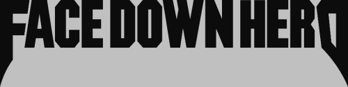 Face Down Hero - Logo