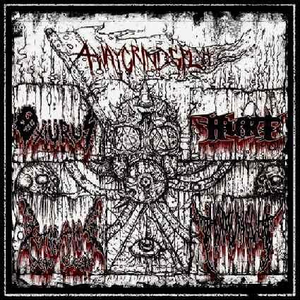 Putrefying Dead Flesh / Homúnculo / Oxiürus - 4WayGrindSplit