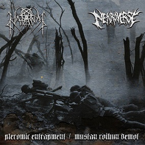 Nekroverse / Natanas - Pleromic Entrapment / Mustan Roihun Demot