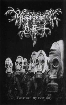 Misanthropic Art - Possessed by Bestiality