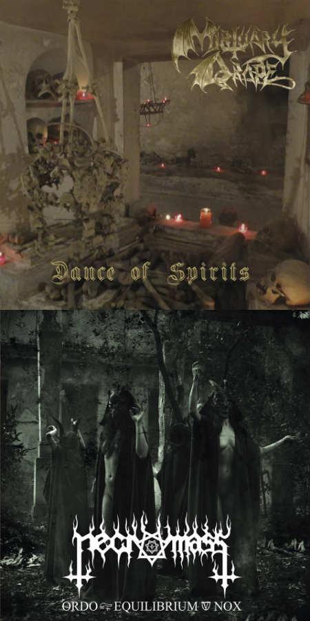 Mortuary Drape / Necromass - Dance of Spirits / Ordo Equilibrium Nox