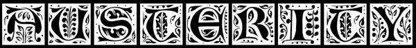 Austerity - Logo