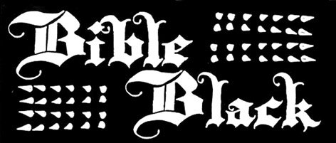 Bible Black - Logo