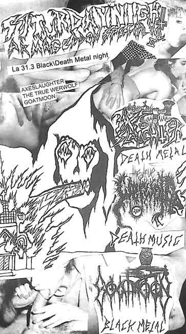 Goatmoon / The True Werwolf / Axeslaughter - Saturday Night Armageddon Special Vol. II