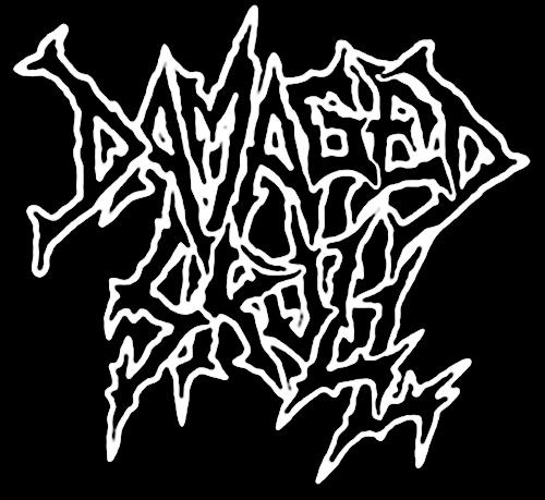 Damaged Skull - Logo