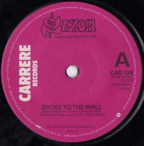 Saxon - Backs to the Wall