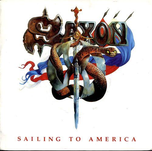 Saxon - Sailing to America