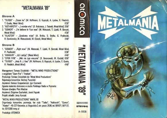 Arakain / Astharoth / Turbo / Alastor / Open Fire / Gomor - Metalmania '89