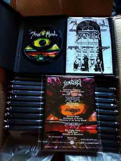 Terror Strike / Ripper / Dictator / Executed - Strike of Metal - Moreover Imagination