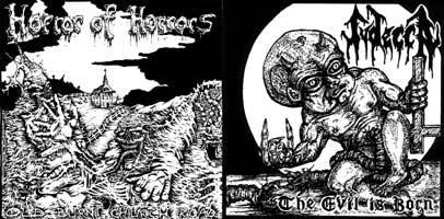Horror of Horrors / Judecca - Judecca / Horror of Horrors