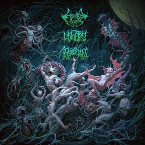 Derogation / Eviscerated Entrails / Dismetry - Extraterrestrial: Embodiment