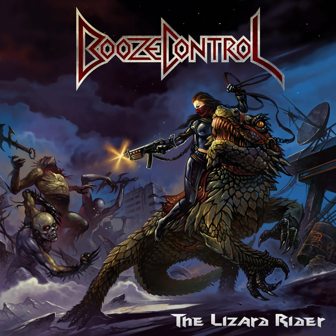 Booze Control - The Lizard Rider