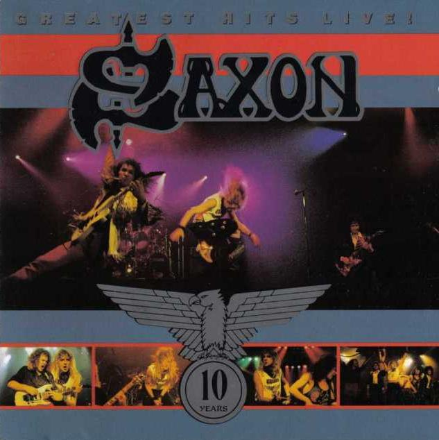 Saxon - Greatest Hits Live!