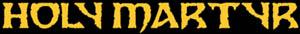 Holy Martyr - Logo