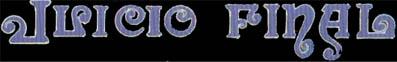 Juicio Final - Logo